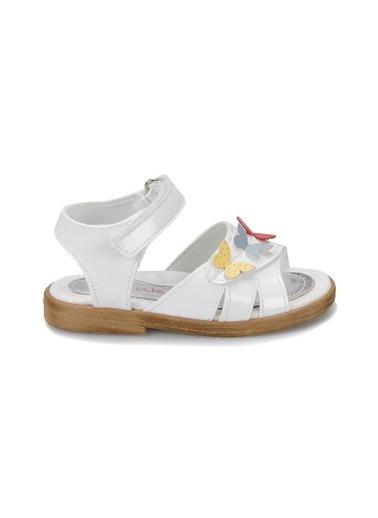 Pink Step Sandalet Beyaz
